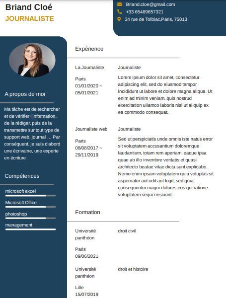 comment rédiger un modèle de CV original et créatif pour se démarquer