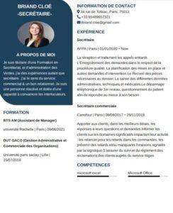 Notre CV de secrétaire de direction et comment vous pouvez créer le vôtre