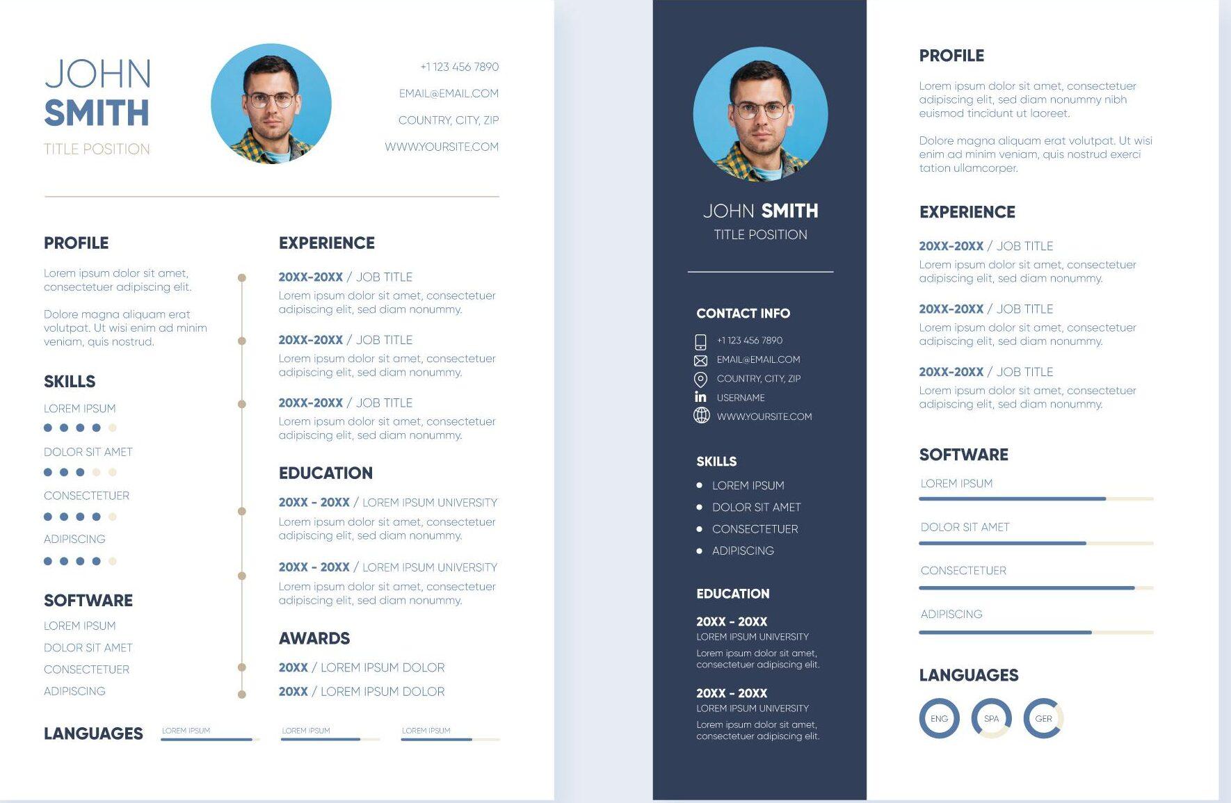 Types de CV : Quand choisir l'un ou l'autre?